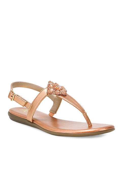 A2 by Aerosoles Chlipper Beaded Floral Sandal
