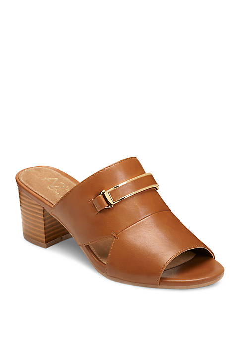 A2 by Aerosoles Mid Air Tailored Slide Sandals