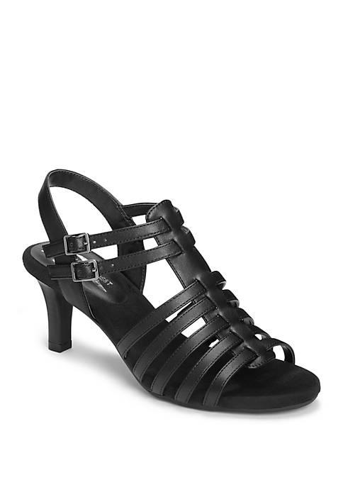 Pass Through Strappy Sandals