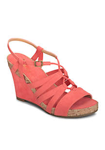 Poppy Plush Sandal