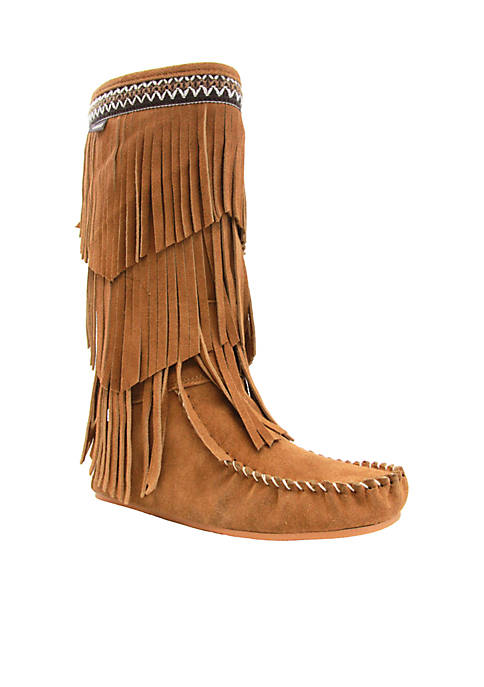 LAMO Footwear Virginia Fringe Boot
