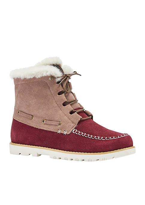LAMO Footwear Meru Sheepskin Collar Boot