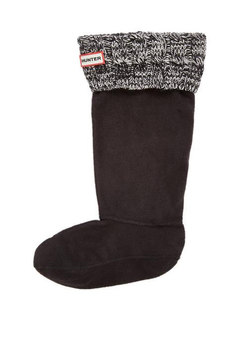 Hunter Six Stitch Cable Boot Sock