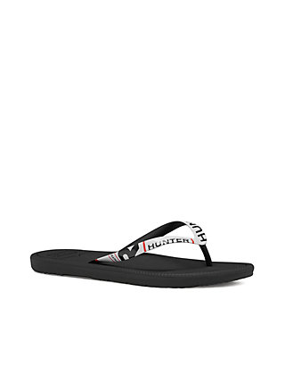 24d0b586b Hunter Original Exploded Logo Flip Flop