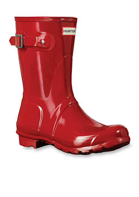 Hunter Womens Original Short Gloss Rain Boots