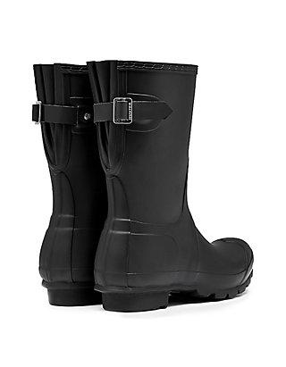 842f9d548962 ... Hunter Womens Original Short Back Adjustable Rain Boots ...