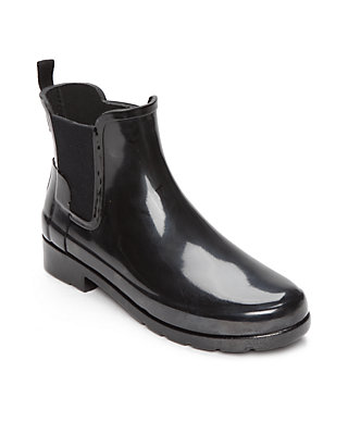 b5cab6f6b Hunter Women's Original Refined Chelsea Gloss Boots | belk
