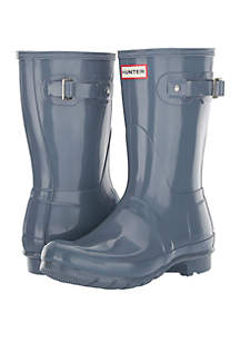 Hunter Short Original Gloss Rain Boot