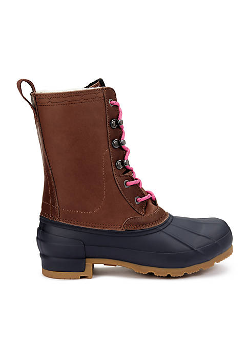 Duck Boot With Changable Laces