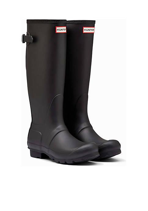 Hunter Womens Original Back Adjustable Rain Boots