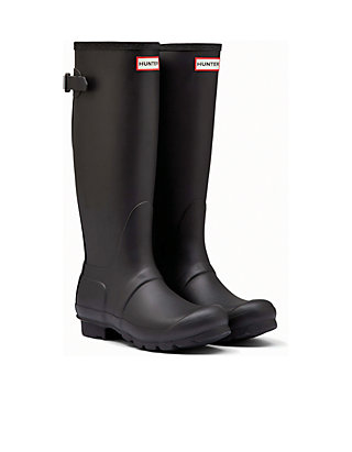 Matte Black Rain Boots