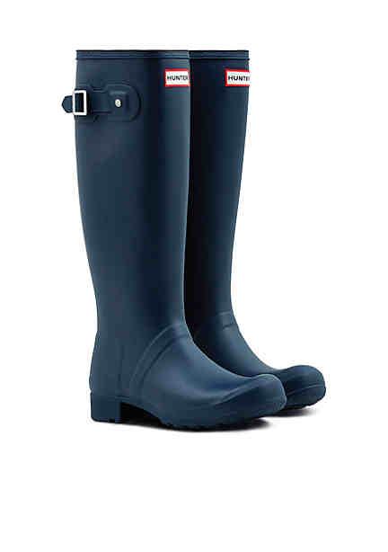 Hunter Womens Original Tour Rain Boots Packable