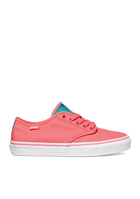 VANS® Camden Stripe Neon Neon Stripe Coral Sneakers 883da2