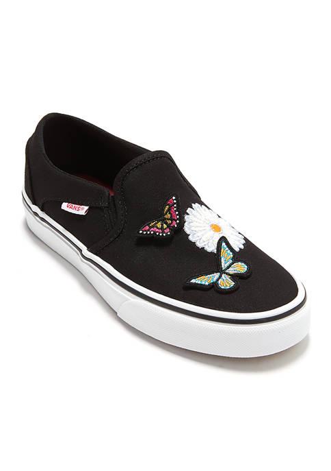 Womens Asher Butterflies Sneakers