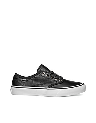 1ed0a0f5c9 VANS® Camden Deluxe Leather Black Sneakers