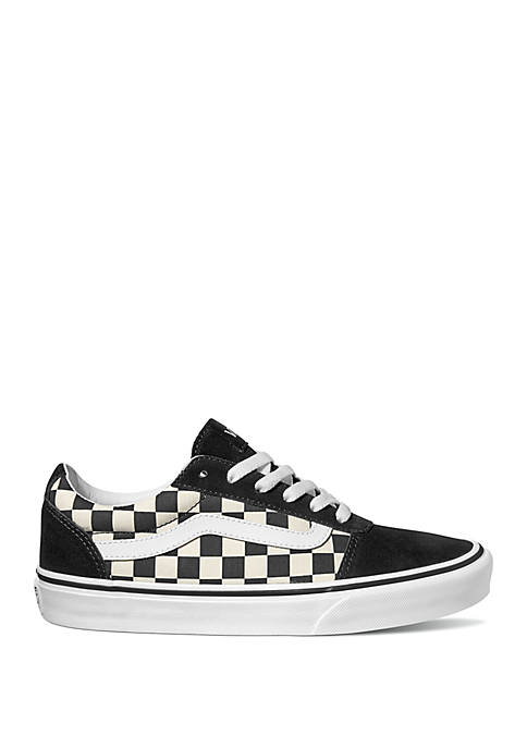 Ward Black and White Checkered Sneaker
