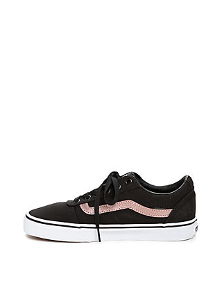 233a810e2013 ... VANS® Ward Sneaker in Black and Rose Gold ...