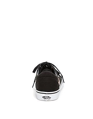 d31e01b2ef02 ... VANS® Ward Sneaker in Black and Rose Gold ...