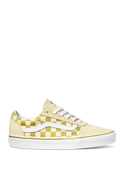 Ward Gold Checkerboard Sneaker