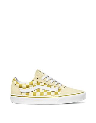 1dcadc206a VANS® Ward Gold Checkerboard Sneaker