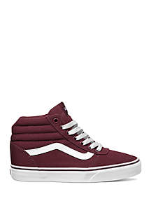 Ward High Top Burgundy Sneaker