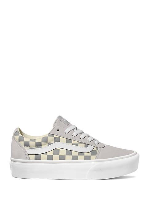 Ward Platform Checker Sneakers