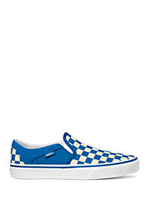 VANS® Asher Checkerboard Sneakers