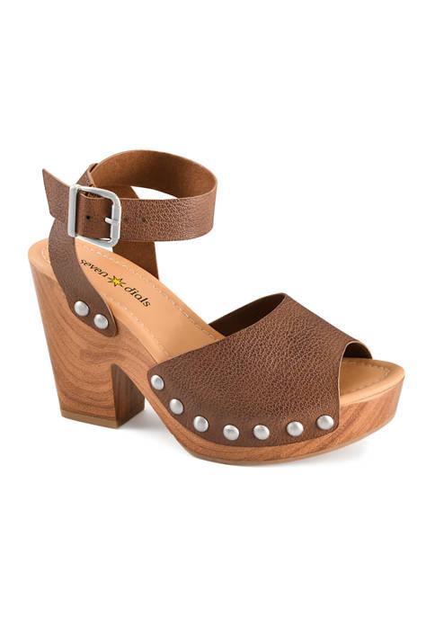 Calgary Platform Heel Sandals