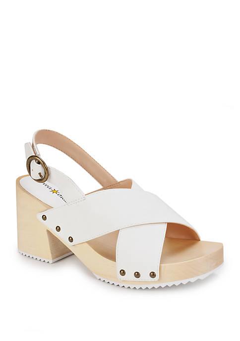 Marina Chunky Heel Sandals
