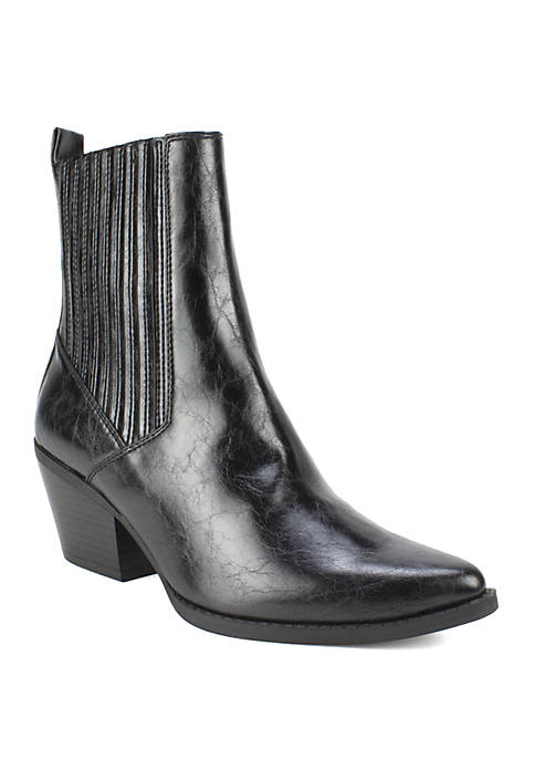 Qiana Western Style Twin Gore Boots