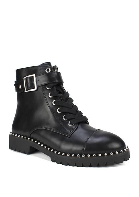 Simpson Lace up Combat Boots