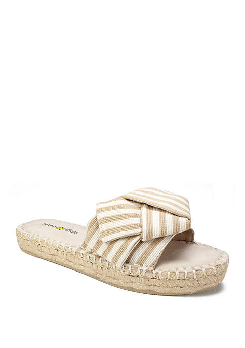 Wagner Bow Espadrille Sandals