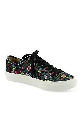 Bettye Nyssa Floral Velvet Sneaker ZLczrOYwPb