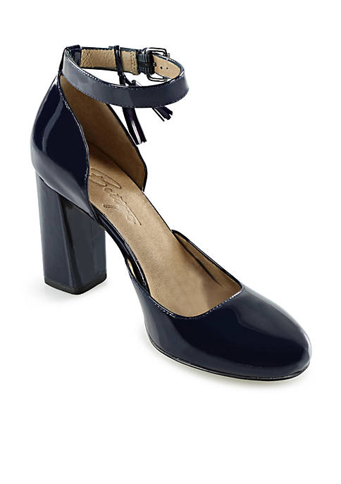 Carly Ankle Strap Pump
