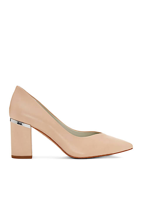 1. State Saffire Chunky Heel Pumps