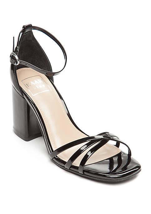 Dana Strappy Block Heel Sandals