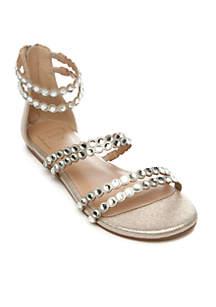 Noelle Flat Sandal