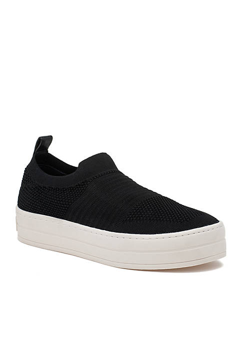 J/SLIDES NYC High Low Knit Sneaker