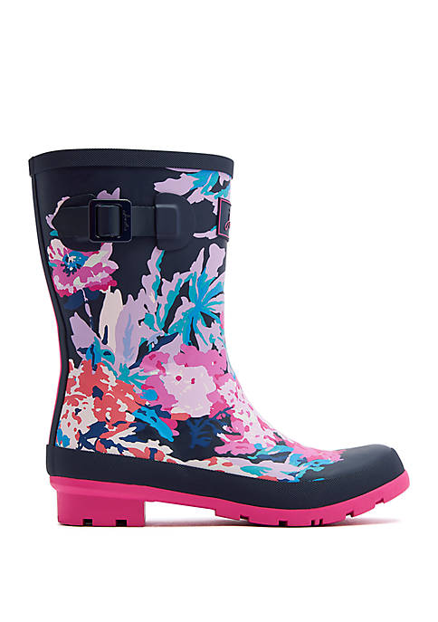 Joules Molly Mid Height Rain Boots