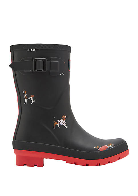 Joules Molly Welly Mid Height Rain Boot
