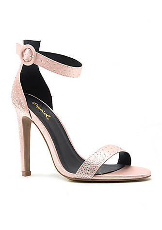Qupid® Ines Ankle Strap Heel 2SCB3LFyx
