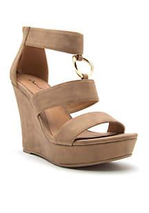 Lena Wedge Sandals