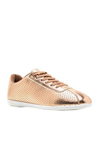 Qupid® Paz Metallic Sneaker 0lYU1xT8f