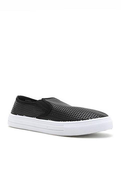 Reba Perforated Slip-On Sneaker