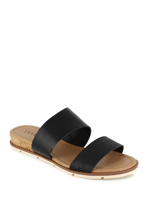 ESPRIT Dansel Double Band Slide Sandals
