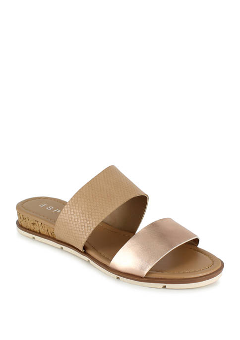 ESPRIT Cassie Criss Cross Flat Sandals