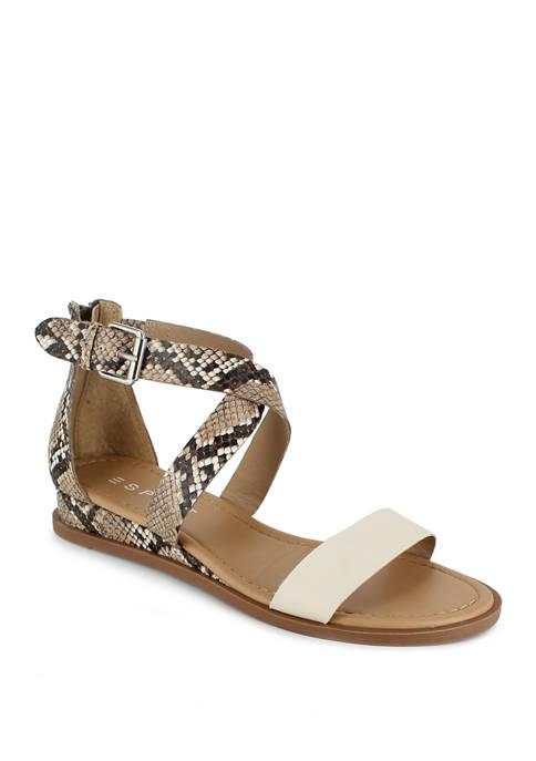 Delaney Criss Cross Sandals