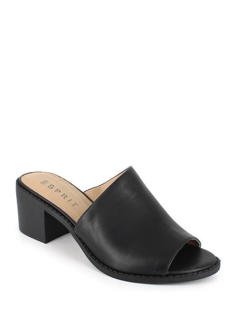 Laney Block Heel Slide Sandals
