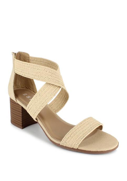 ESPRIT Tianna Criss Cross Block Heels