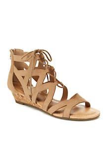 Chrissy Wedge Sandals